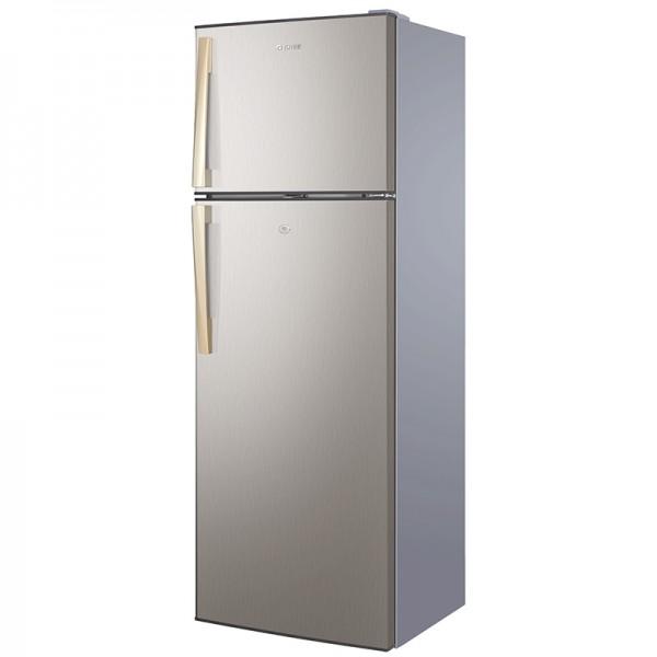 Double Door Refrigerator Gold